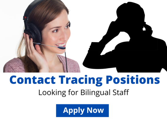 Contact Tracing Positions