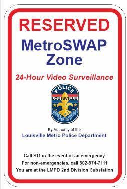 MetroSwap sign