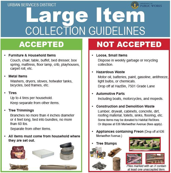 Large Items
