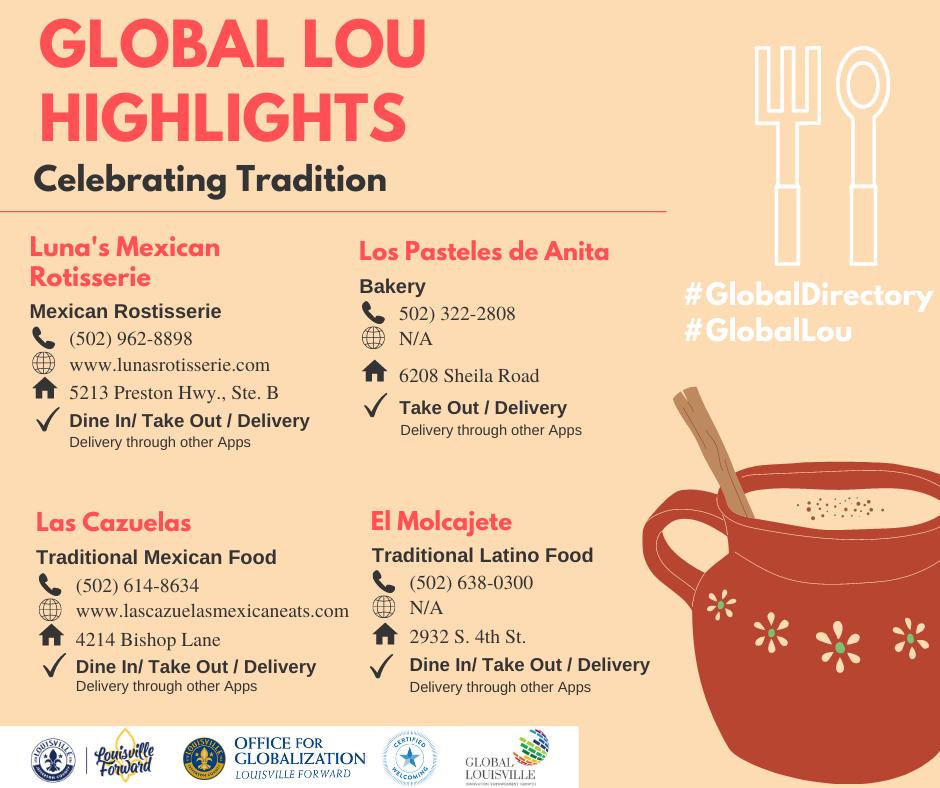 Global Lou Highlights - Hispanic tradition