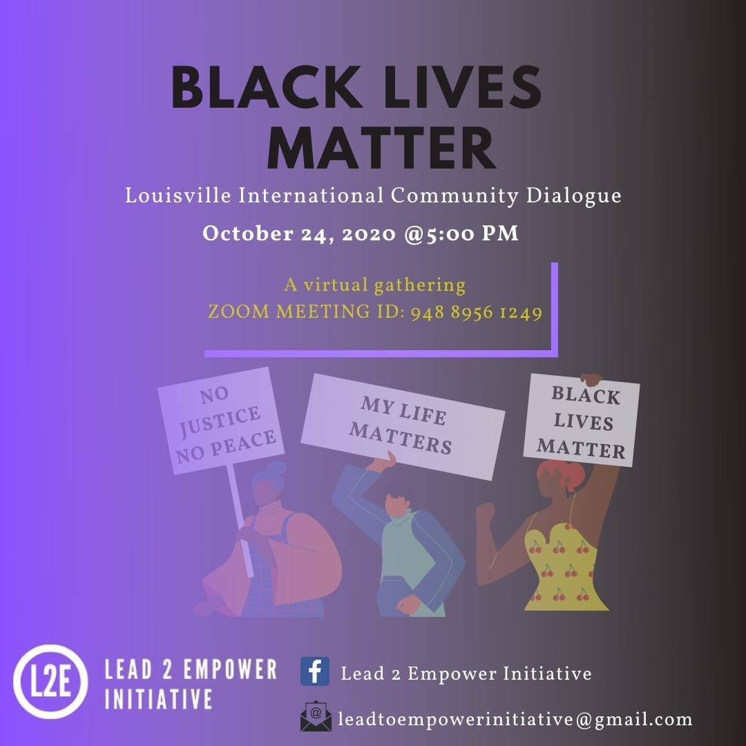 BLM event