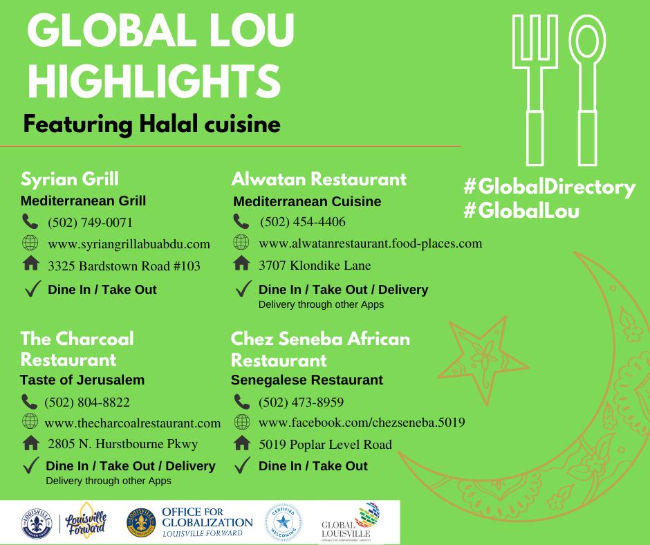 Global Lou Highlight - Halal Cuisine