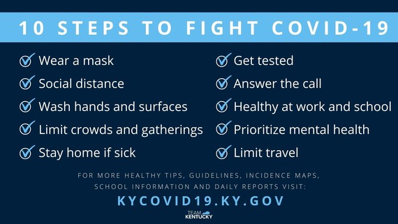 Updated State COVID Guidelines - Oct. 26