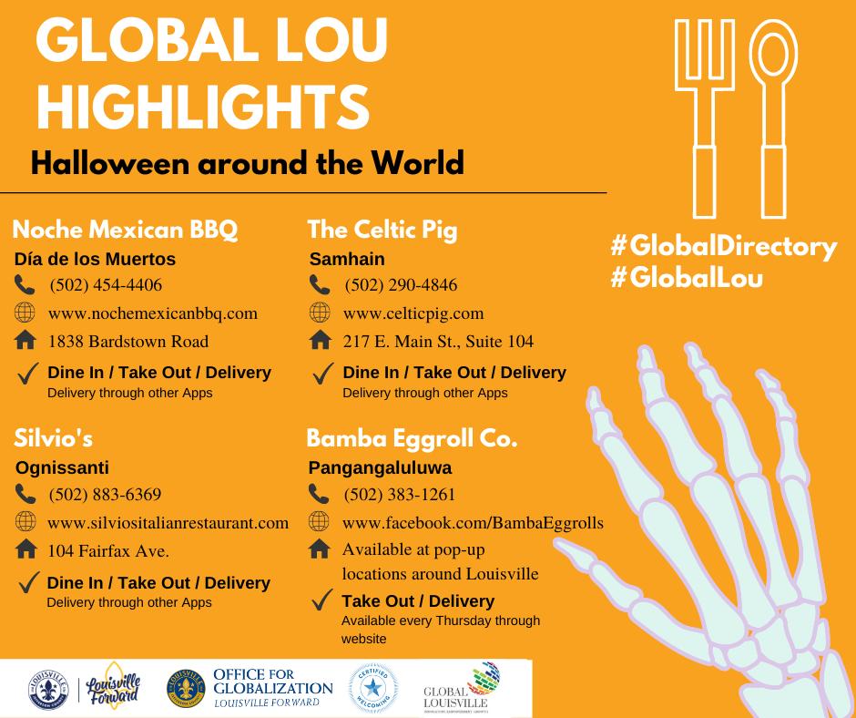 Global Lou Highlights - Halloween