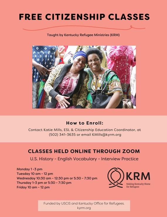 KRM Citizenship classes
