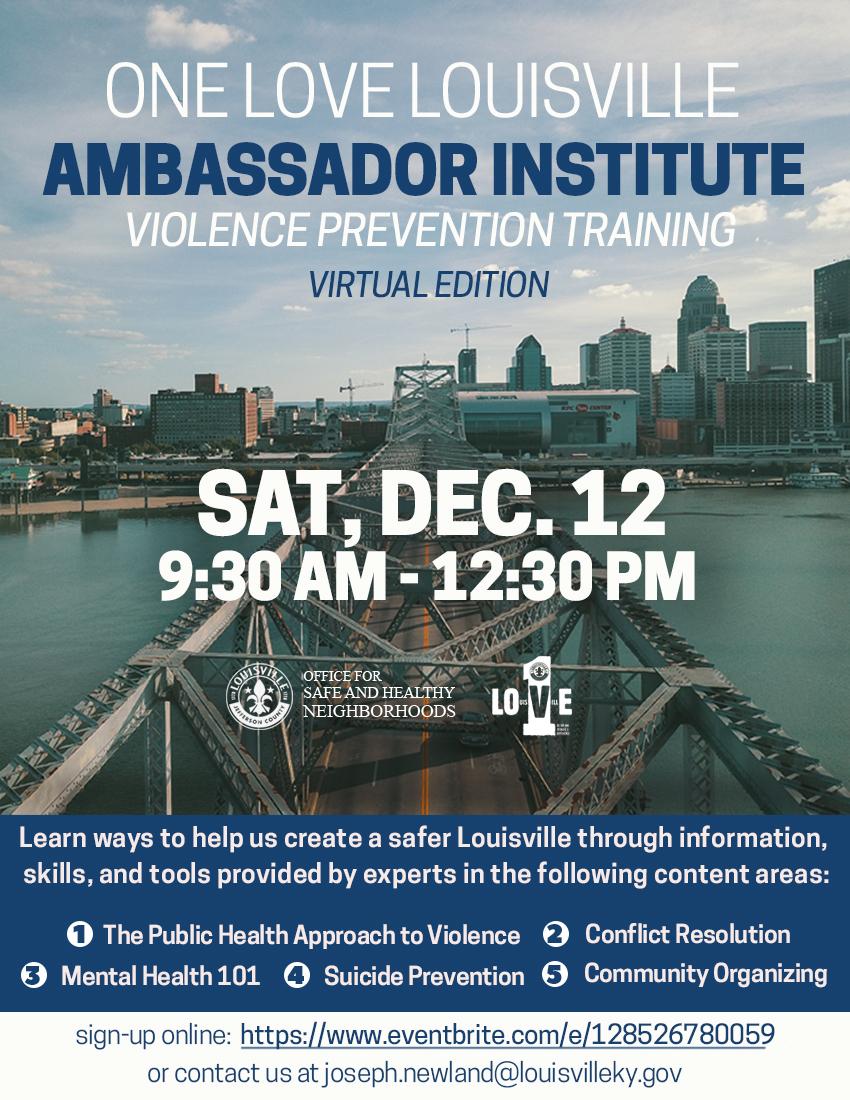 Virtual Ambassador training