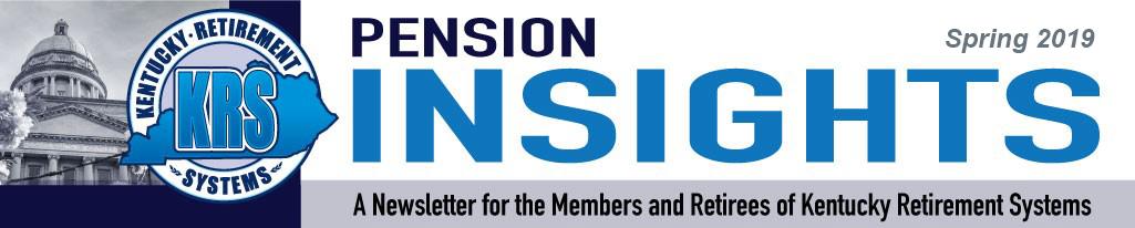 Pension Insights Spring 2019
