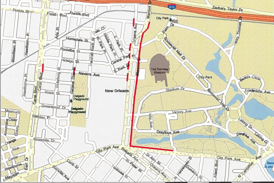 Parking Instructions And Traffic Restrictions In Advance Of 2017 Mardi Gras Celebrations