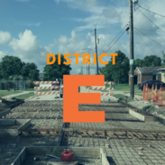 district e