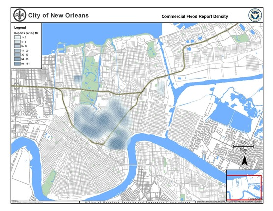 Commercial Flood Density