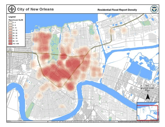 Residential Flood Density