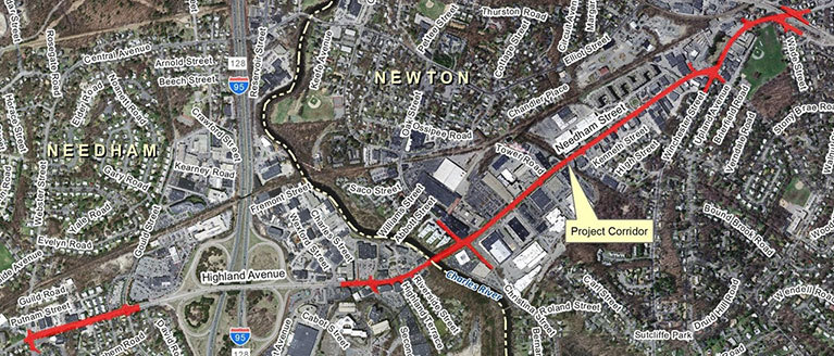 Needham-Newton Corridor Project