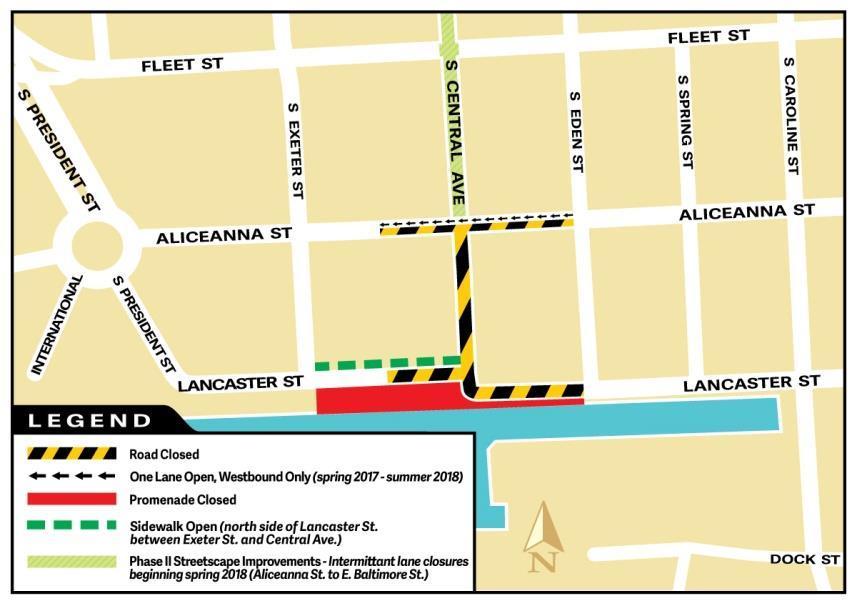 Aliceanna Street Map