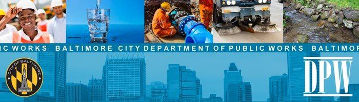 Department of Public Works – Announcements