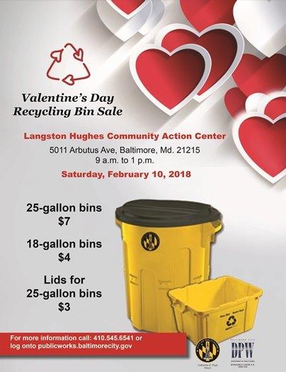 Feb. 10 Recycle Bin Sale
