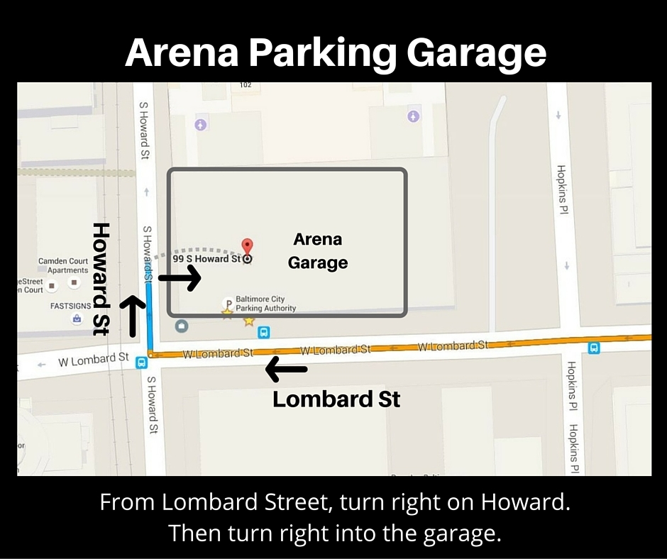 Arena Parking Garage