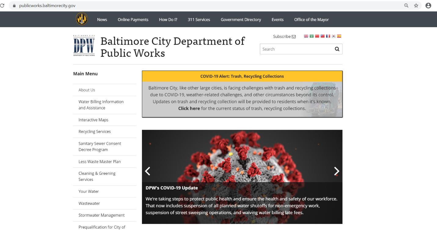 daily website updates