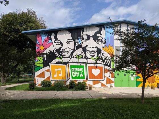 Creative City mural