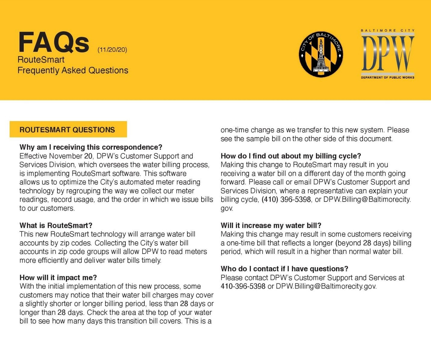 FAQ Document