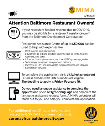 BDC Grant Opportunity English