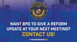 BPD reform update