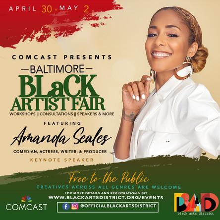 black artist fair