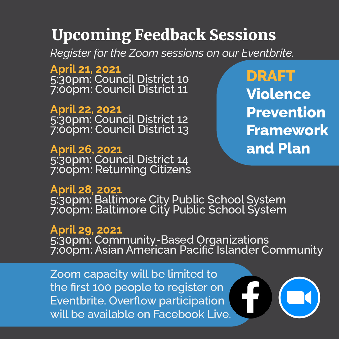 MONSE violence prevention feedback sessions