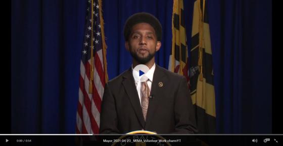Mayor Scott video for volunteers