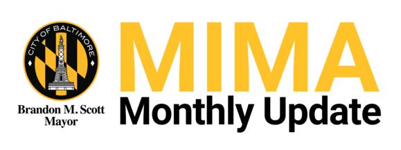 MIMA Monthly Update Header