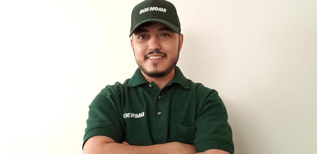 Mohammad in BGE Uniform