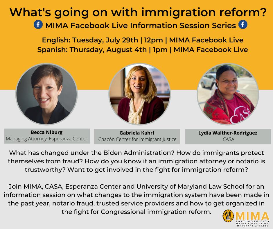 Immigration Reform Series graphic