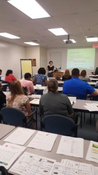 CASH staff teaching
