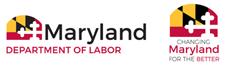 Labor logo and Change MD logo