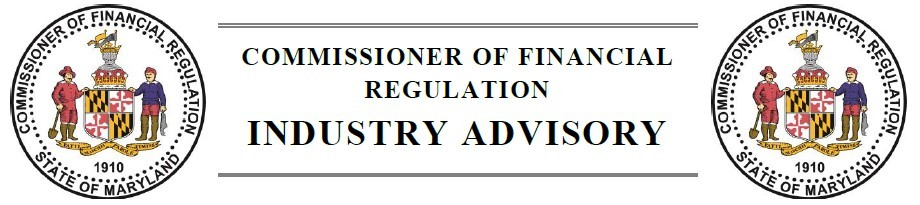 OCFR Industry Advisory