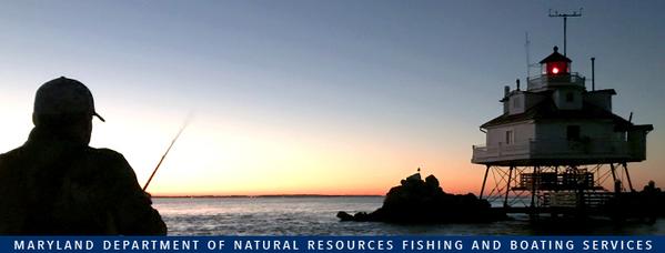 Photo of: Man fishing at sunrise at lighthouse