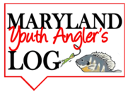 Youth Angler's log graphic