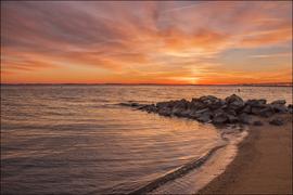 Photo of Bay at sunset