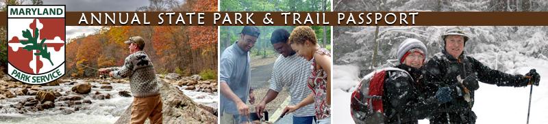 Three photos of people enjoying parks year round