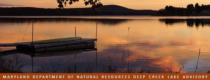 Image of Deep Creek Lake sunset