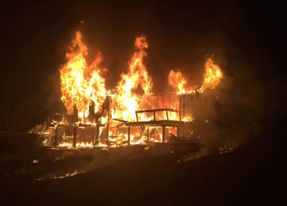 Elkton Fire Claims Two Lives