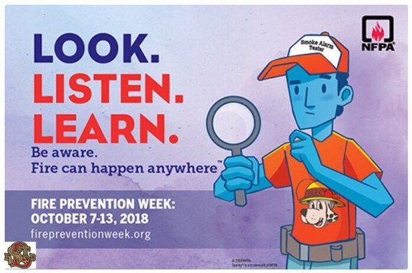 NR - Statewide Fire Prevention Week
