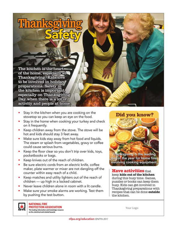 NR - Thanksgiving Safety