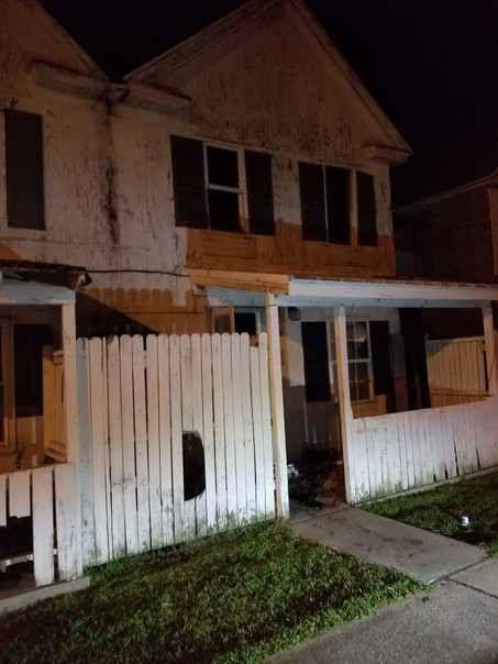 Crisfield Abandoned House Fire