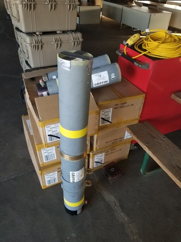 Inert Recovered Rocket Launch Tube