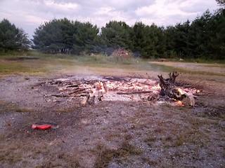 open air burn