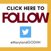 Click Here to Follow Us on Twitter: @MarylandGODHH
