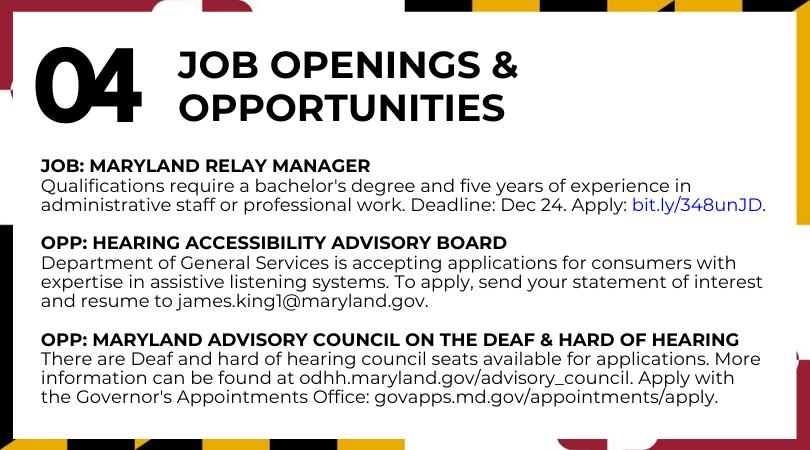 Job Openings & Opportunities