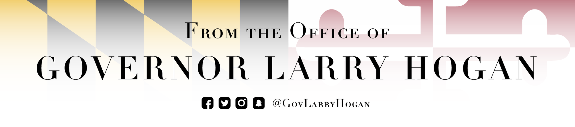 From the Office of Governor Larry Hogan