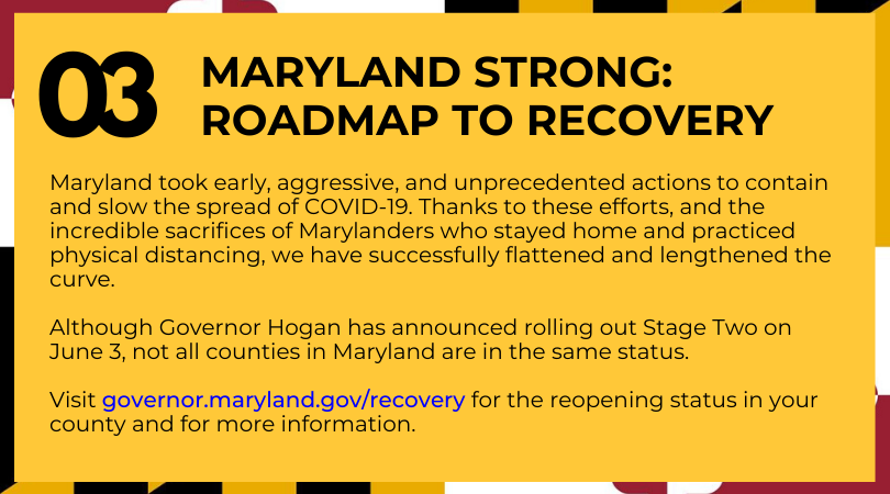 Maryland Strong: Roadmap to Recovery