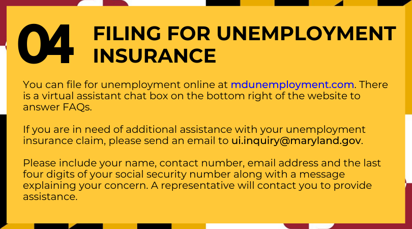 Filing for Unemployment Insurance